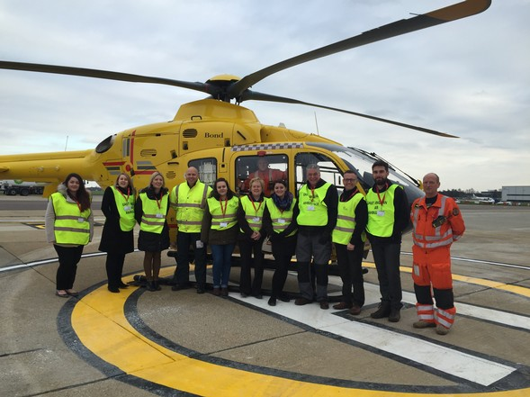 Kelling hosts National Bike Week event for East Anglian Air Ambulance