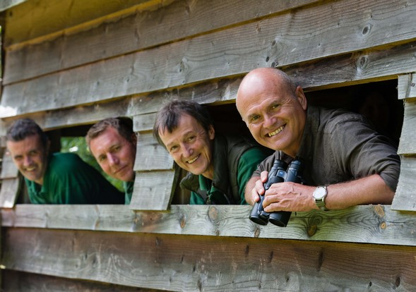 TV conservationist opens new wildlife pond and hide at Kelling Heath Holiday Park