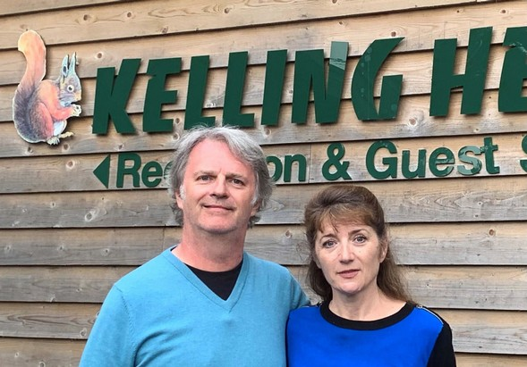 Paul Merton stays at Kelling Heath Holiday Park for New Channel 5 series Motorhoming With Merton & Webster