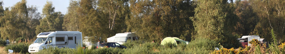 Simple Touring Caravan Amp Campsite  Kelling Heath Holiday Park Norfolk