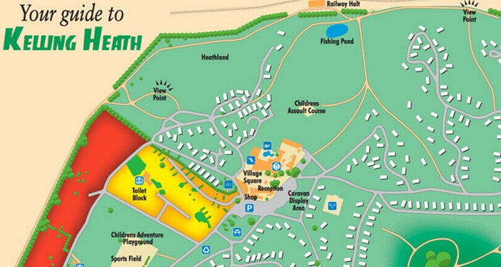 Kelling Heath Map Information & Faqs : Kelling Heath Holiday Park Norfolk