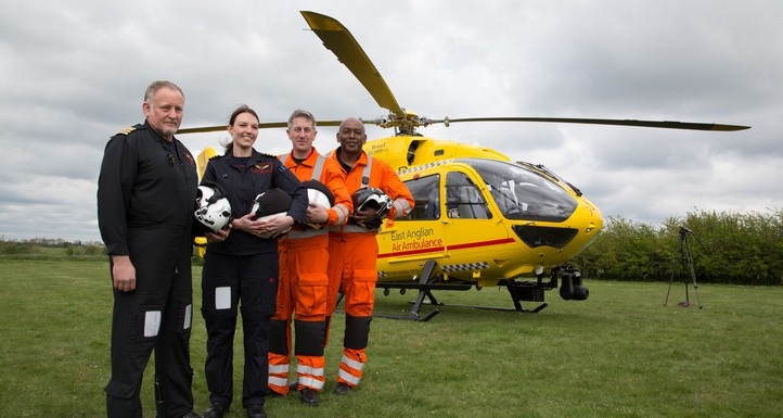 Our chosen Charity The East Anglian Air Ambulance