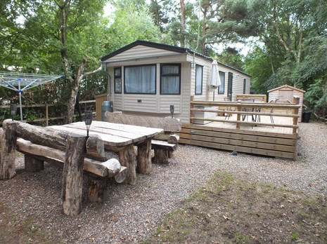Model Kelling Heath Holiday Park Holt Norfolk East England NR25 7HW